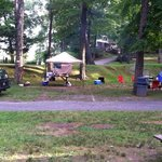 Kittatinny River Beach Campground resmi