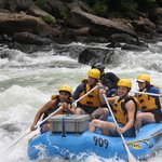 Rafting on Yough