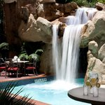 Great pool, love the Waterfall