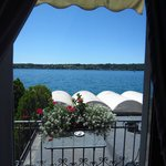 Room 103 balcony with view of Lake Garda