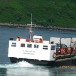 The Glenelg - Kylerhea (Skye) ferry