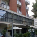 Front of Hotel Chris in Igea Marina