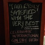 International Gin Day