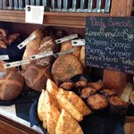 fresh baked pastries and breads