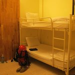 The room - 6 beds dormitory. Nice.