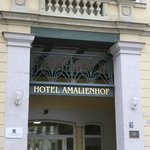 Entrance to Amalienhof Hotel
