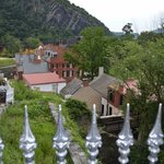 View of Harpers Ferry National Park from church