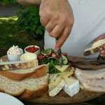 Ploughman's Platter for two. Recommended