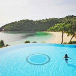 The biggest pool in Boracay