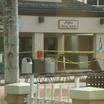 taped off, no poolside bar, no restaurant