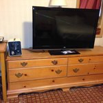 Horrid furnishings - nice TV