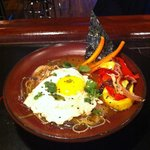 Asian Noodle Bowl with and egg
