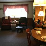 All the ammenties including two recliners