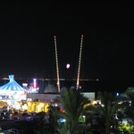 Attractions on promenade
