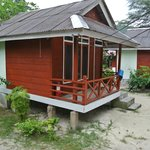 The small chalet that fits 3 person.