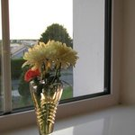 Town View room.  Always lots of fresh flowers about.