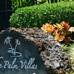 Palm Villas Gated Entrance