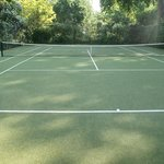 Tennis court available in the residential garden