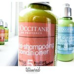 L'occitane body care products