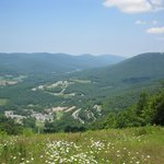 view from the top of Jiminy Peak near Christiansen's Tavern