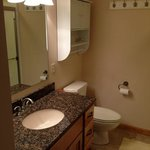 master bath with washer/dryer