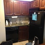 Small kitchenette area