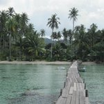 View from jetty on Dusita Resort
