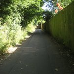 Shared path to Canterbury - off site