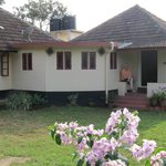 Guest House and lawn