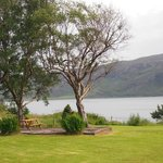 This hotel is beautifully situated on the shore of Loch Broom.