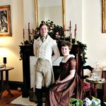 Photo after the Jane Austen Festival, taken in the front sitting room.