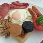 Arkle house , derry , full irish breakfast