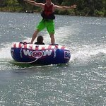 Tubing near The Timbers Resort!