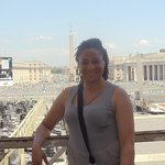 Me at The Holy See!