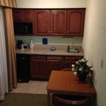 king suite room kitchenette