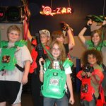 Fun with friends at q-zar