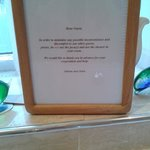 Jacuzzi Sign in Communal Bathroom