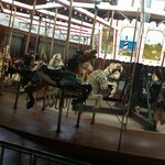 carousel has been meticulously restored