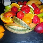 assiette de fruits
