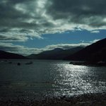 The head of Loch Tay, evening