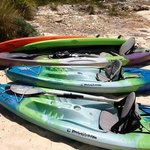 Complimentary kayaks & paddle boards