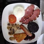 Great British Breakfast at the Trentham Guest House Paignton