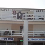 Motel from boardwalk
