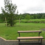 Table/bench combo - Lewis & Clark RV Park
