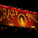 Lighted Sign of Crazy Annies