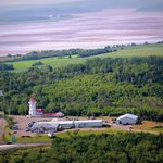Masstown Market with view of the Bay of Fundy