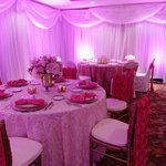 Beautiful PINK function room