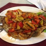 The sweet and sour fish