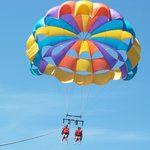 Parasailing in St Ignace