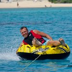 Tubing with sun, sea and smiles